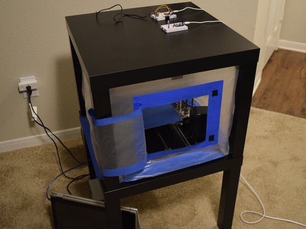 Climate Controlled 3d Printer Enclosure Hackster Io