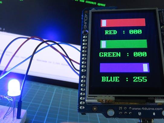 RGB LED Colour Control
