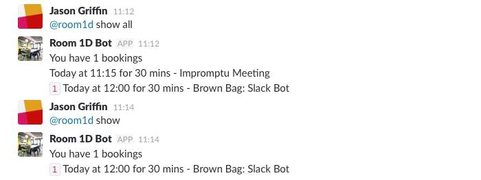 Slack: Impromptu Meeting