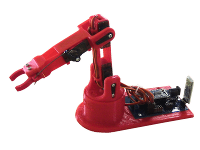 Littlearm 2C: Build a 3D Printed Arduino Robot Arm
