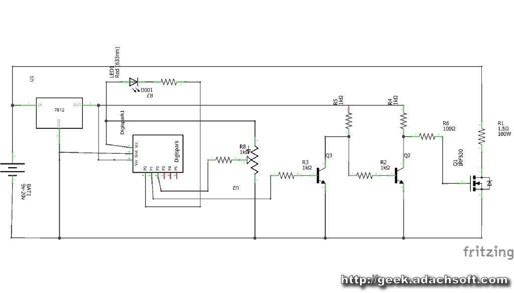 hot wire foam cutter arduino pwm arduino project hub