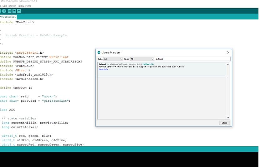 Installing the PubNub SDK is simple . . .