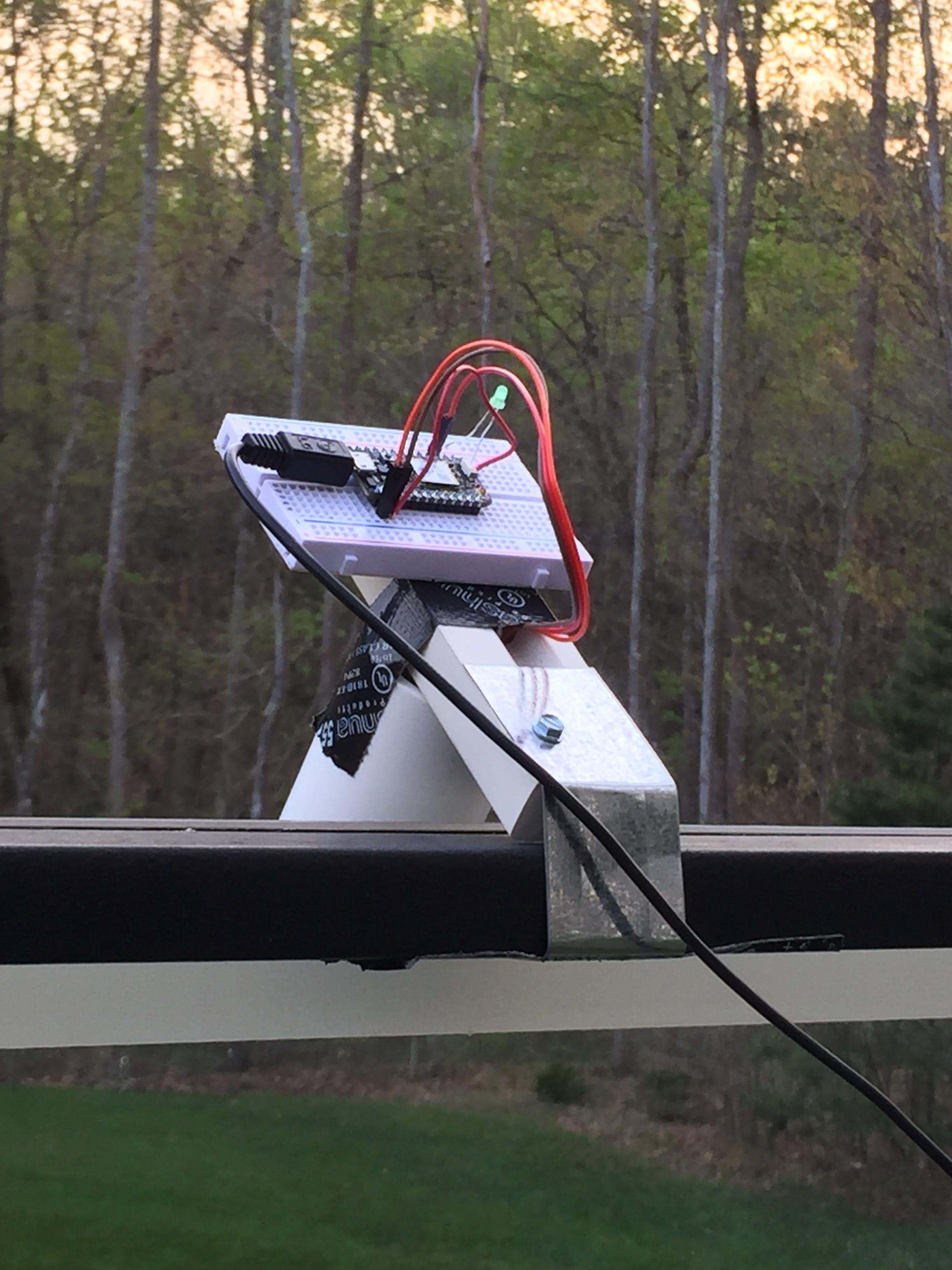 Sensor Setup (Upper PIR)