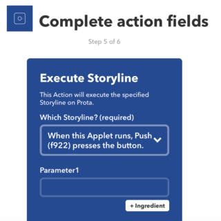 how to create a new ifttt applet