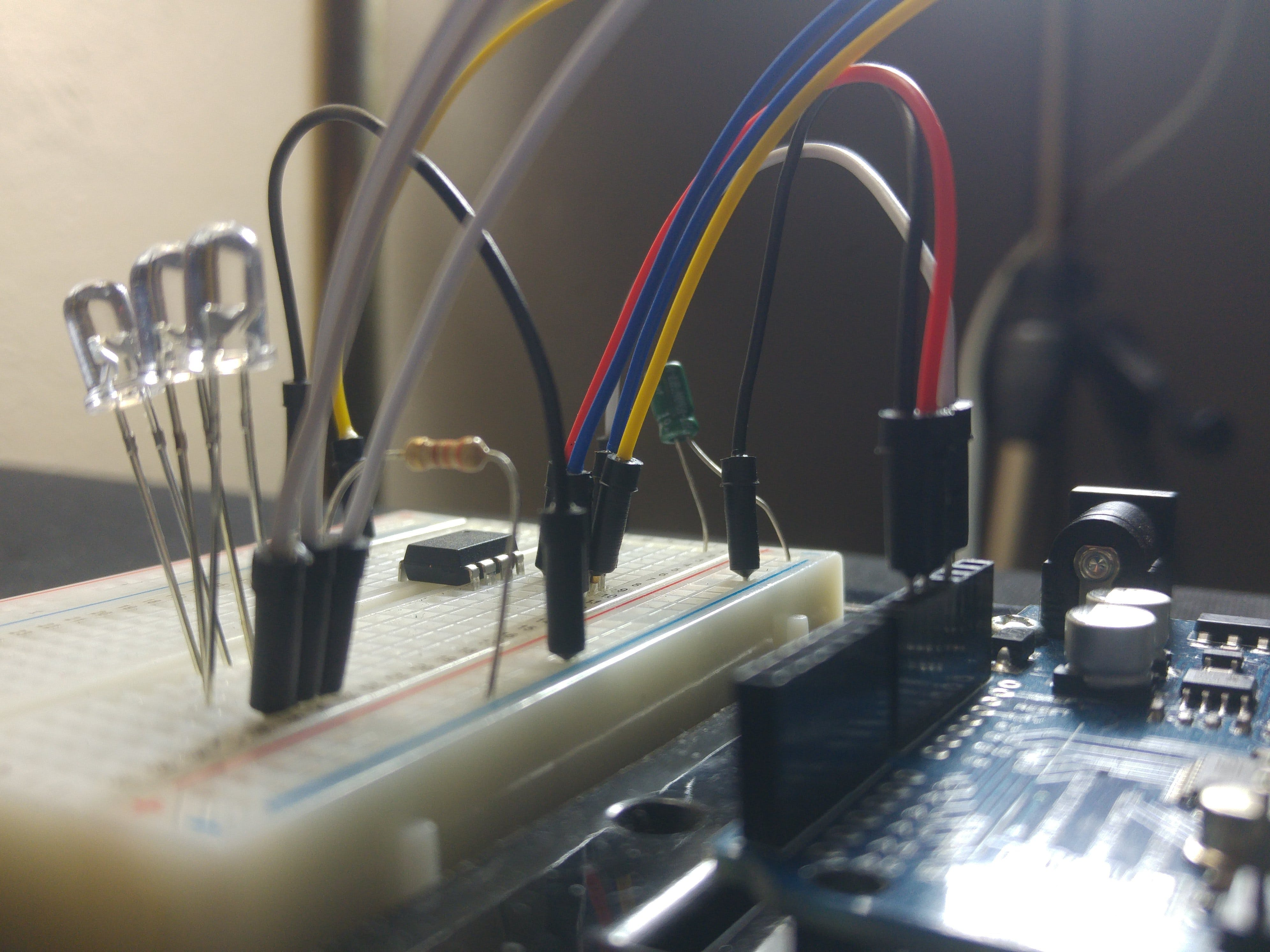 Programming the ATtiny85 (Using an Arduino Uno)