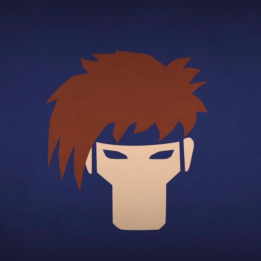 Artwork xmen blo0p gambit superhero minimalism heroes 6673 alo11ej8t2