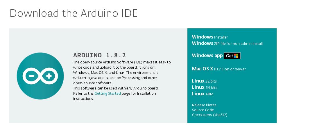 arduino 1.6.8