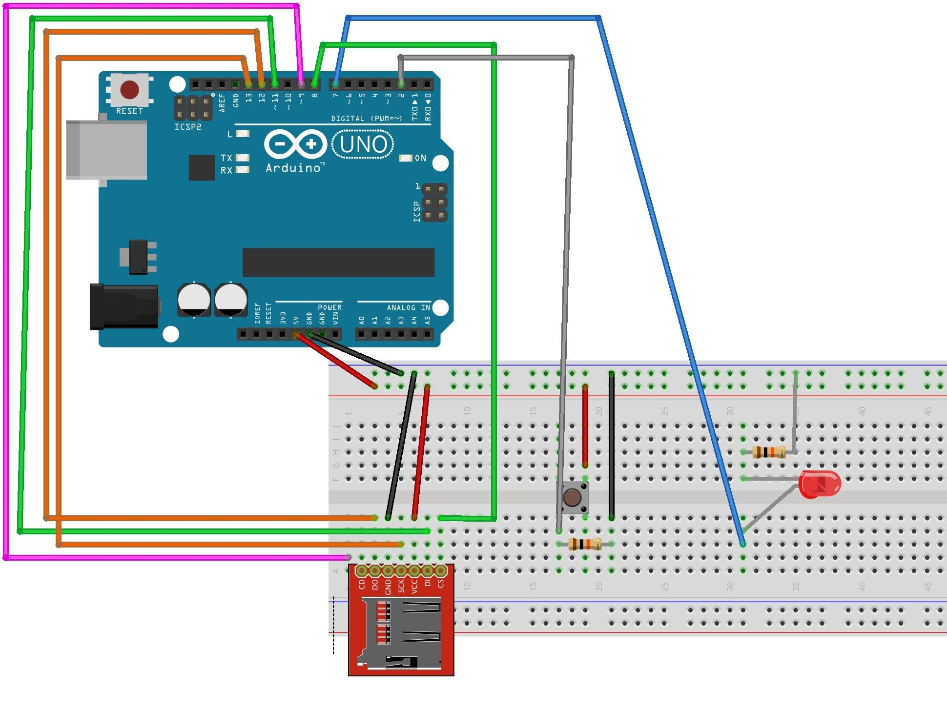 Arduino Programmed Keyboard Strikes