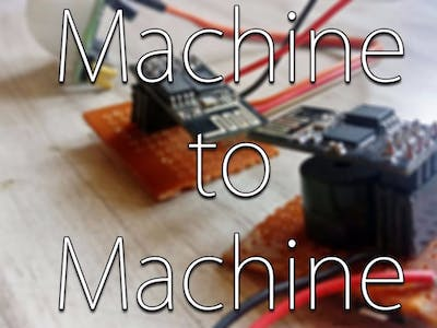 Machine To Machine Talk Using ESP8266