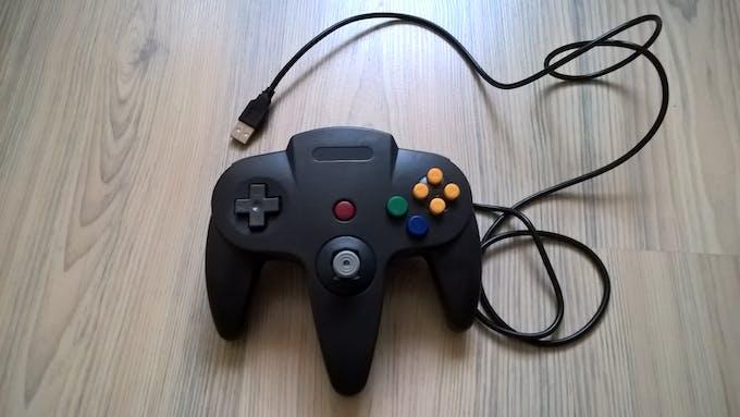 figure 2 - USB Nintendo 64 controller