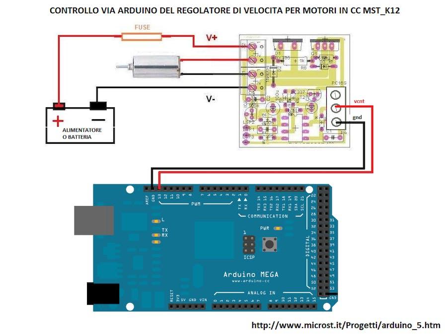 Arduino DC Motor Speed Motor Control