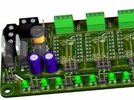Theremino driver for 5 stepper motors V1.