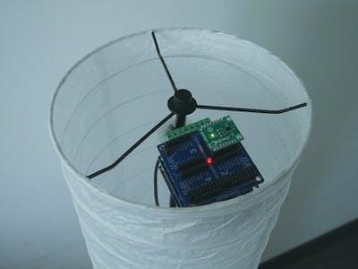Control Light via Motion or Web