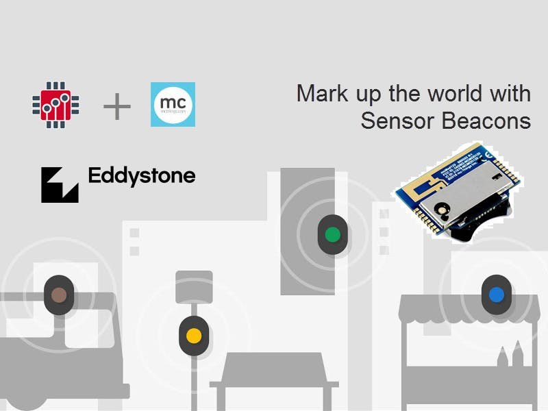 Mark up the world with Sensor Beacons