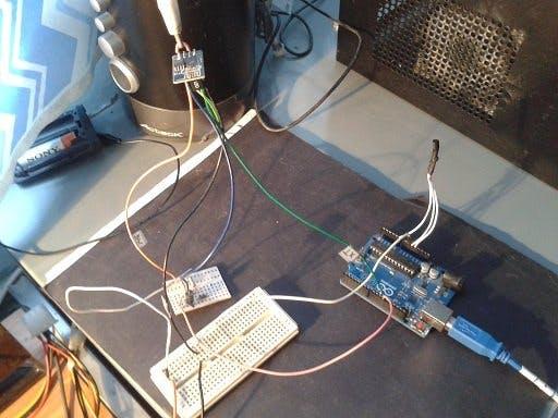 ESP8266 Temperature Logger with LM35