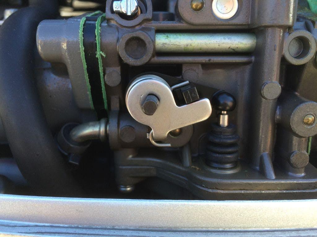 Outboard Motor Throttle Controller