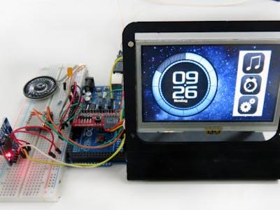 Alarm Clock featuring gen4-uLCD-43DT