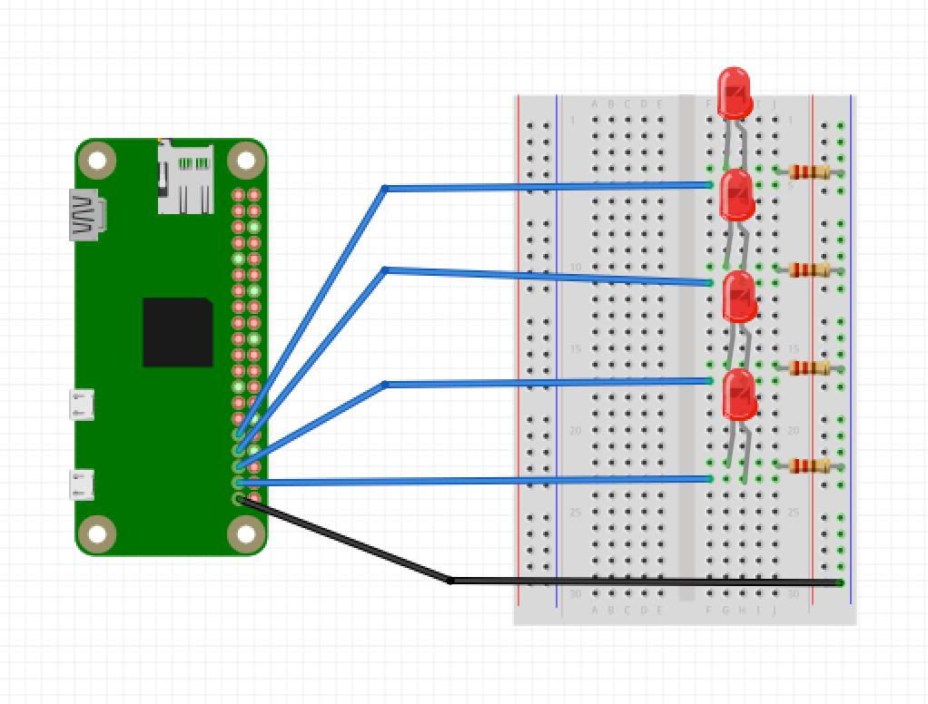 Pi zero led wiring s5unj3nrst