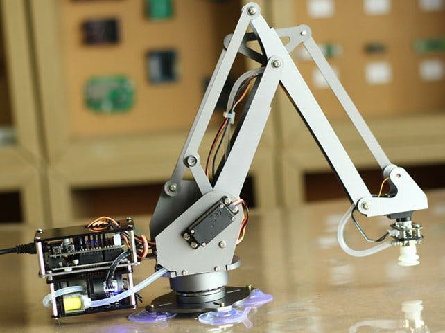 Chatbot controlled Robotic Arm