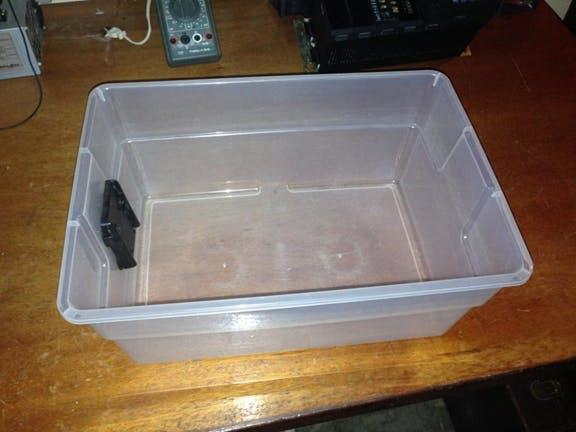 Fig. 9 - Plastic container