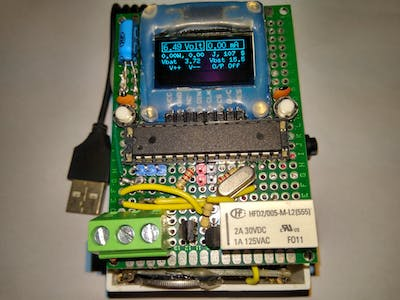 Programmable Pocket Power Supply with OLED Display