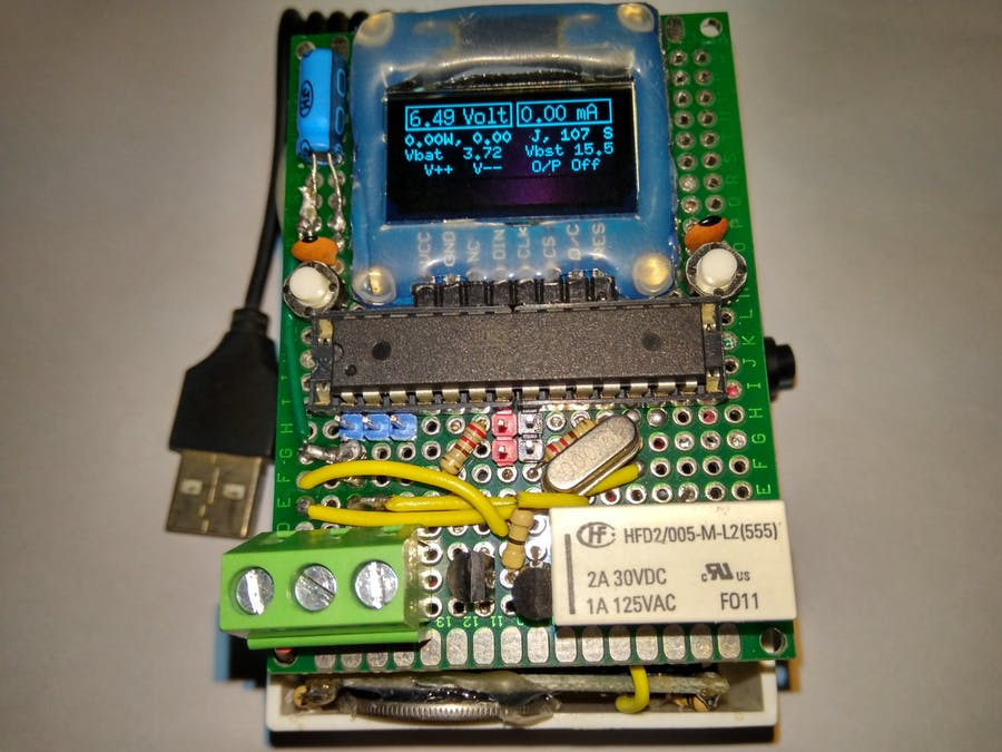 Programmable Pocket Power Supply with OLED Display - Arduino Project Hub