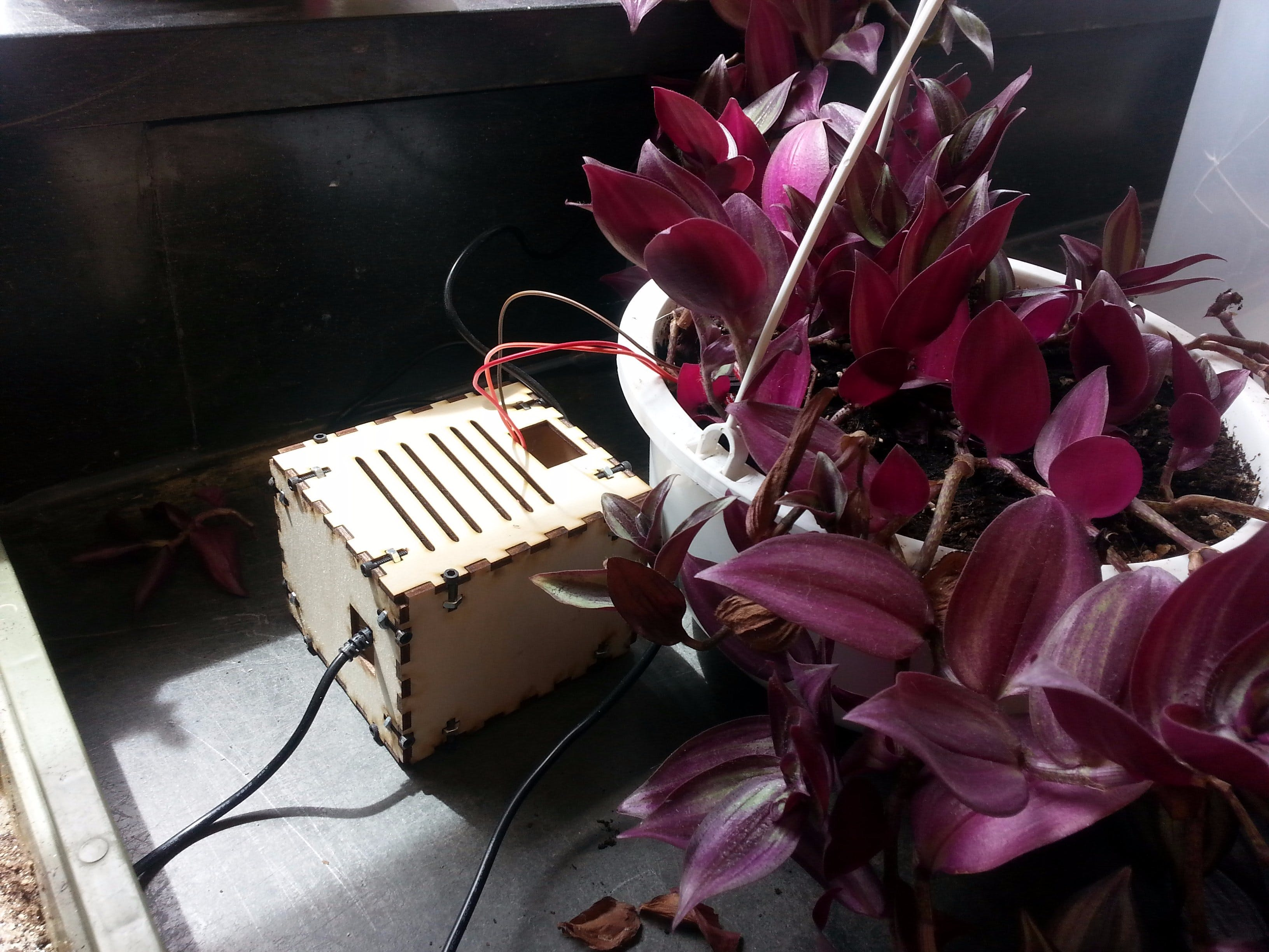 Greenhouse Temperature/Humidity and Soil Moisture Sensor