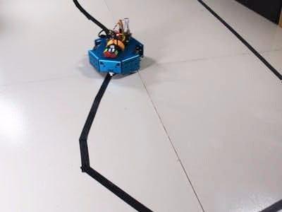 PID Control Line Follower Robot