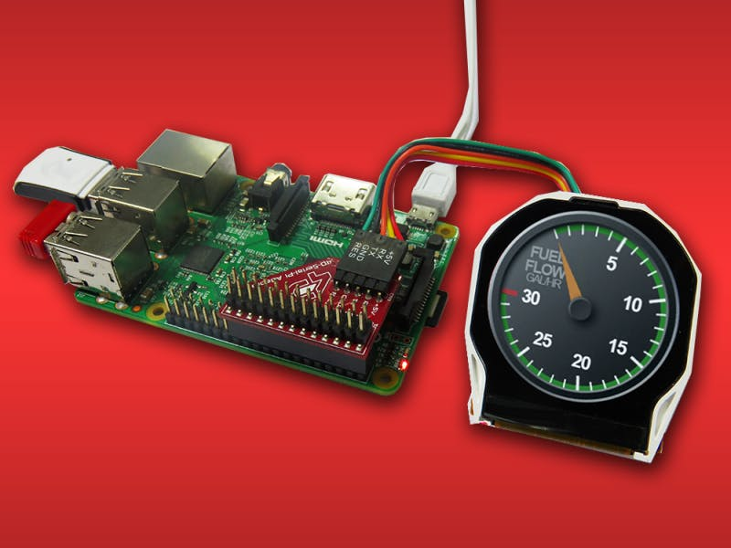 Controlling Widgets Using Raspberry Pi