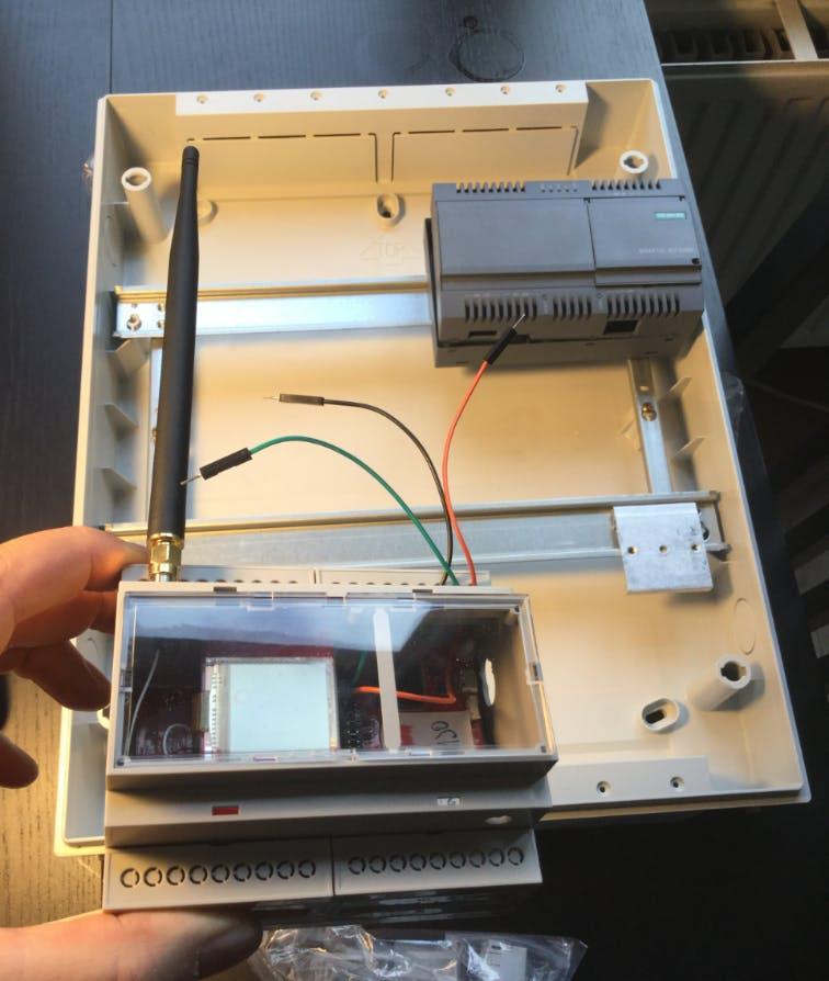 CC1310 as a DIN SigFox Module
