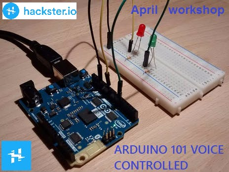 BCNLABS - ARDUINO 101 VOICE CONTROLLED