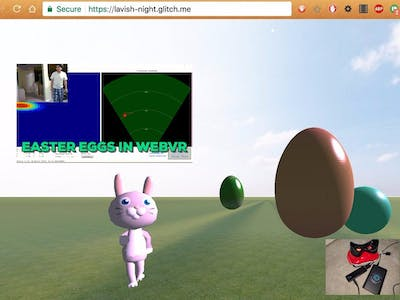 Walabot Target Visualization in WebVR