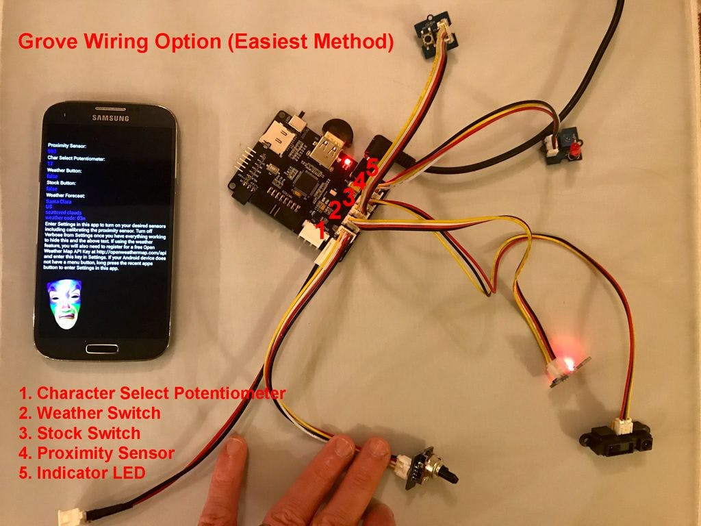 How to Connect the Grove Sensors