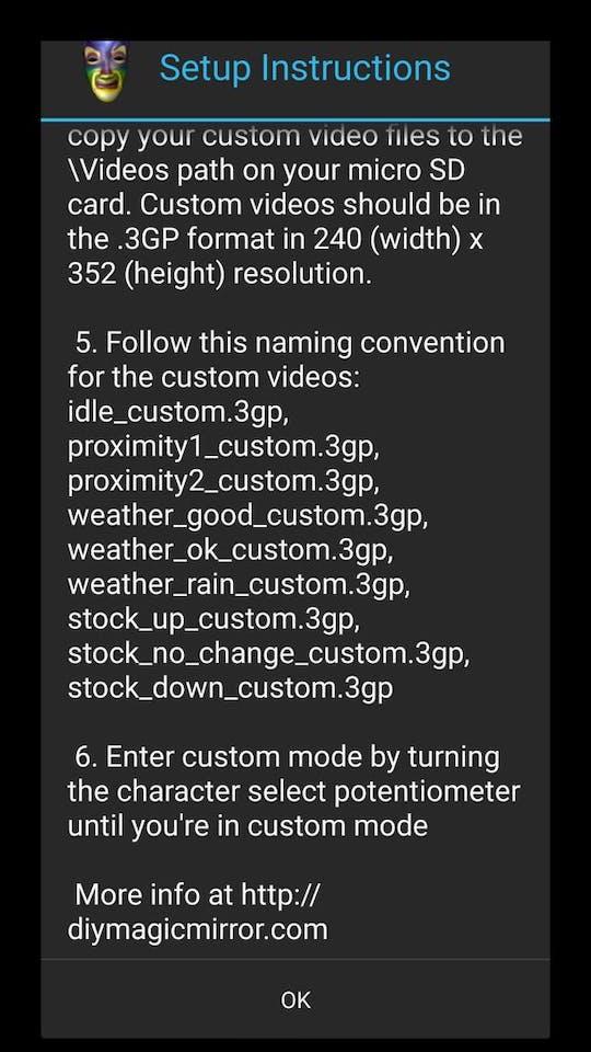 DIY Magic Mirror - Android Edition - Hackster io