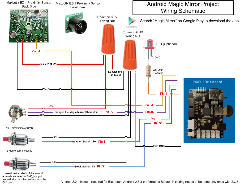 Android magic mirror schematic resfdpwyaq