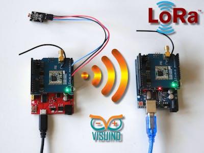 Long Distance Remote Light Sensor With RFM95W/RFM98W LoRa