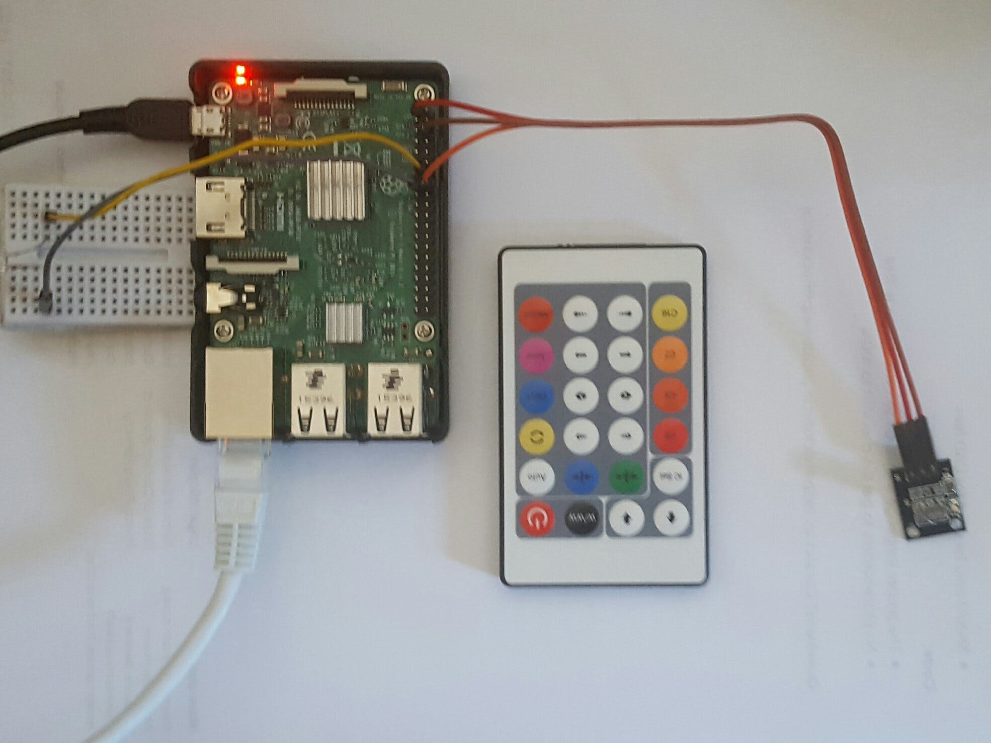Non-RGB LED Strip control with Web UI