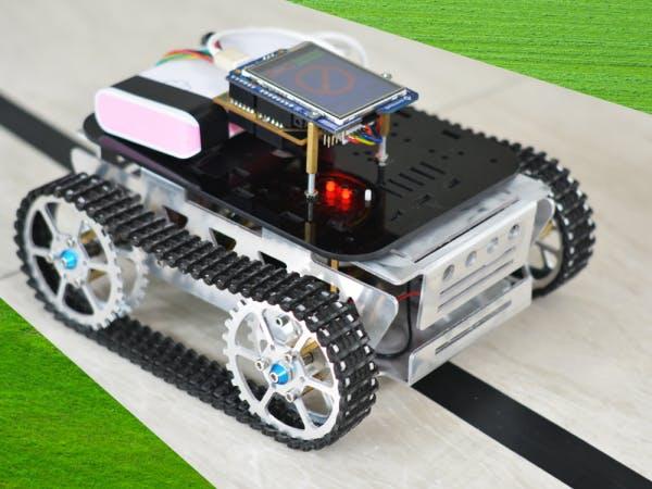 Line Follower Rover