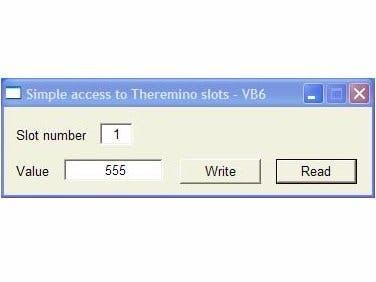 "Theremino - Access to Slots ""WriteSlot""  ""ReadSlot""."