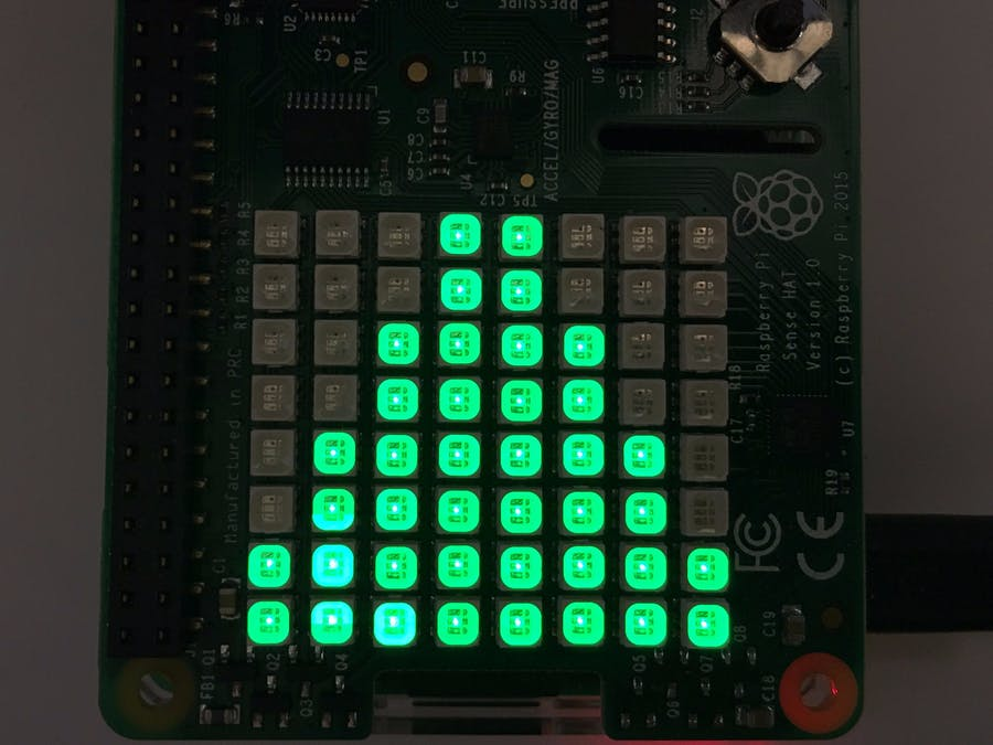 Raspberry Pi And Sense Hat Stock Symbol Price Ticker Hackster