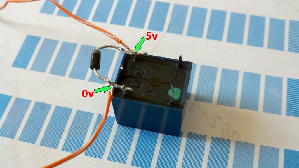 instead of this, you can use 5v Relay Module