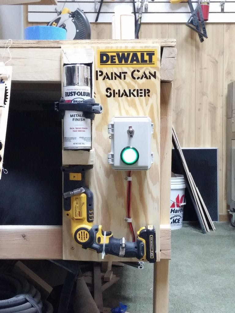 Dewalt Spray Paint Shaker