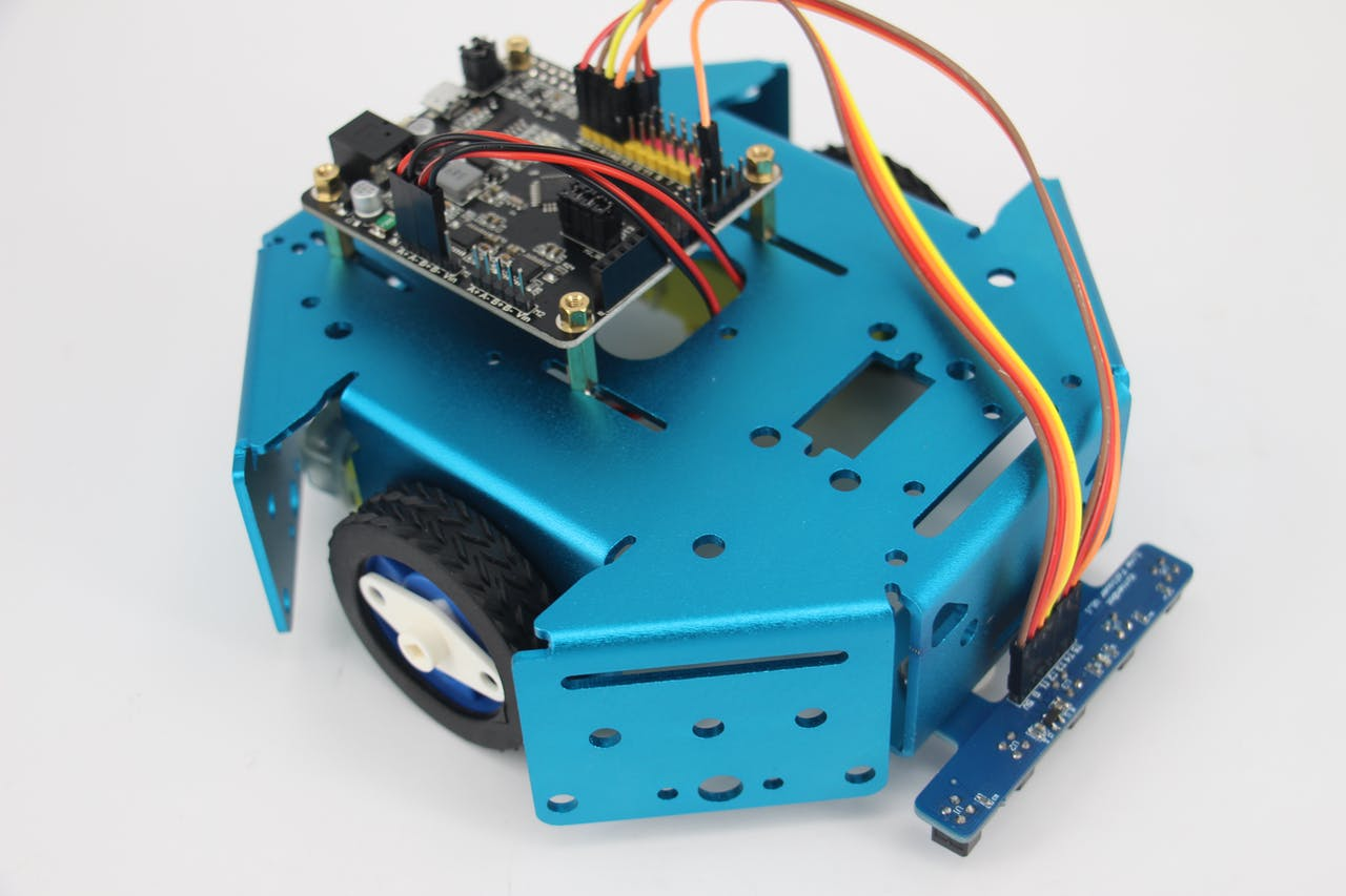 Pid Control Line Follower Robot Creating A With Avr