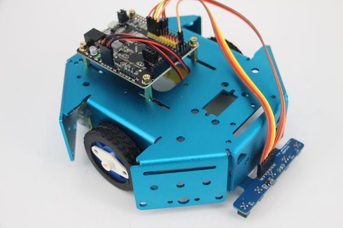 Pid control line follower robot arduino project hub