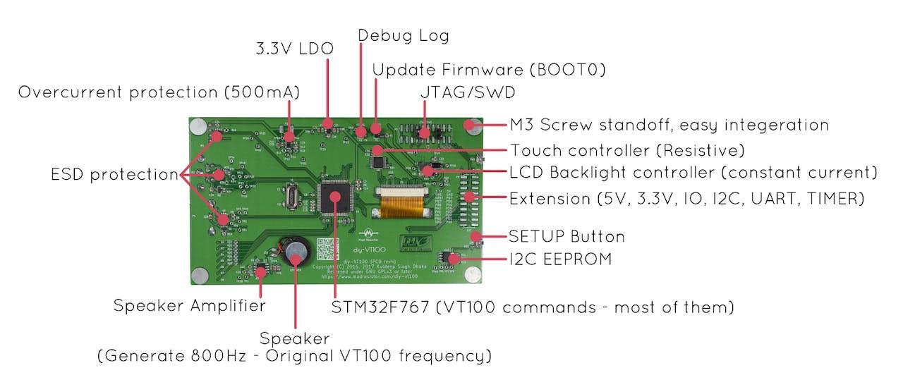 diy-VT100: A Miniature Hardware Terminal - Hackster io