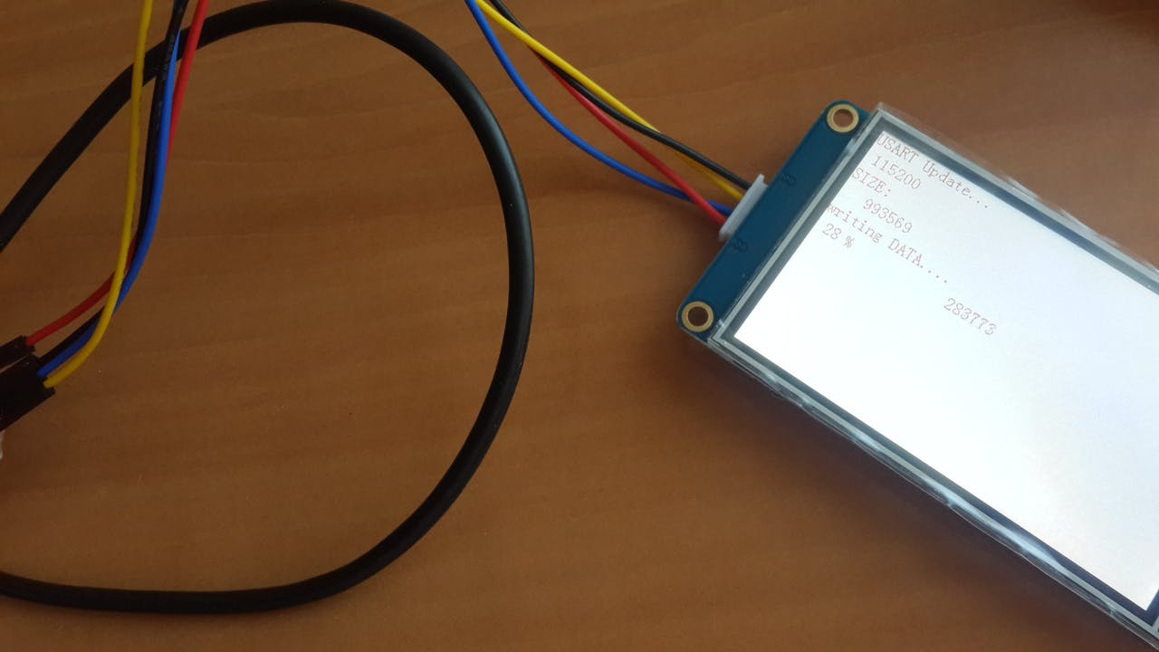Programming Nextion LCD Without SD Card - Arduino Project Hub