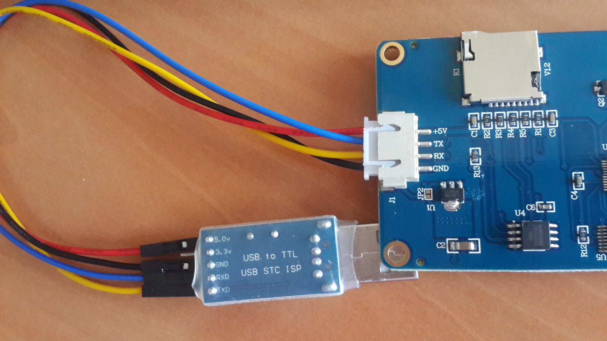 Programming Nextion Lcd Without Sd Card Hackster Io