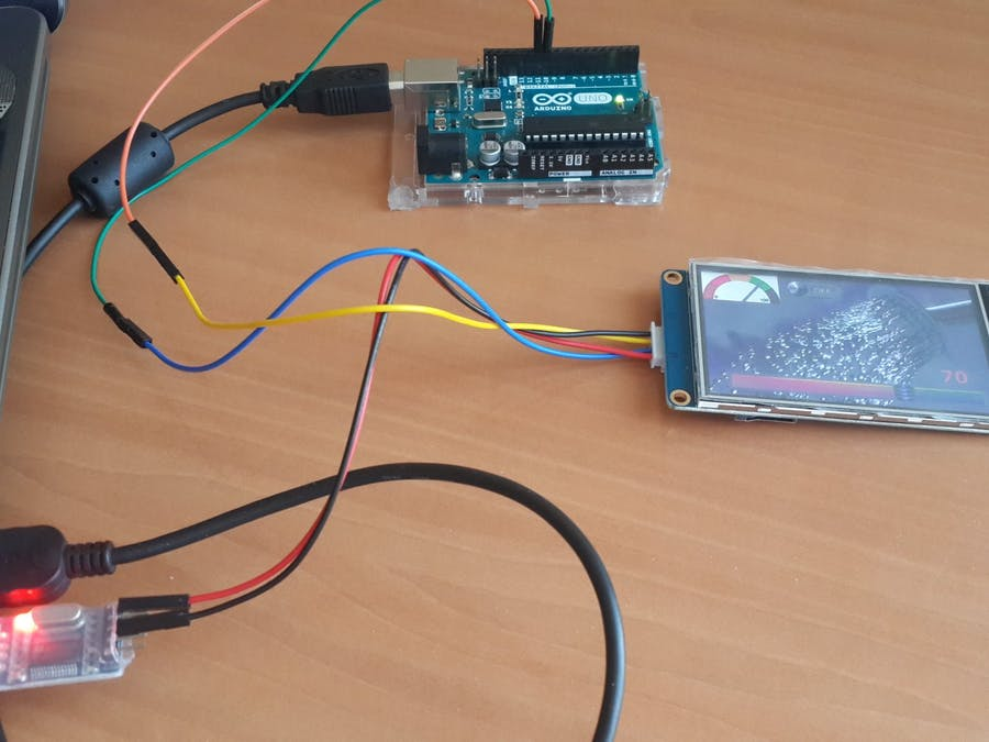 Nextion LCD communicate with Arduino UNO - Arduino Project Hub