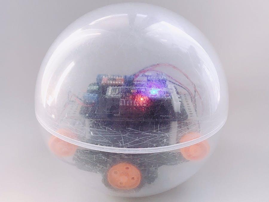 Omicro Spherical-type Robotic Ball