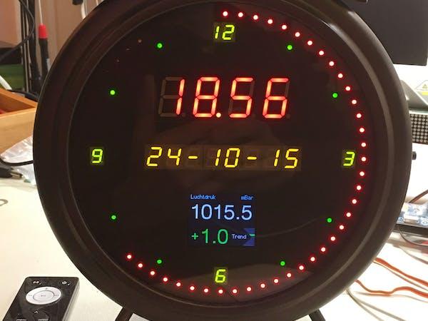 Gorgy Meteo Clock Hackster Io